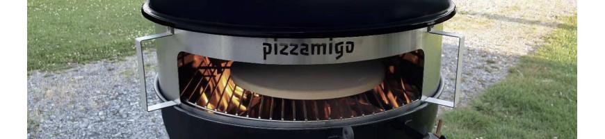 Pizzamigos et kits pour cuire vos pizzas au barbecue