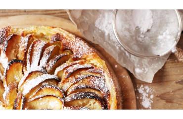 La tarte aux pommes ; recette du dessert gourmand aux pommes